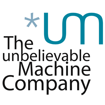 The unbelievable Machine Company logo
